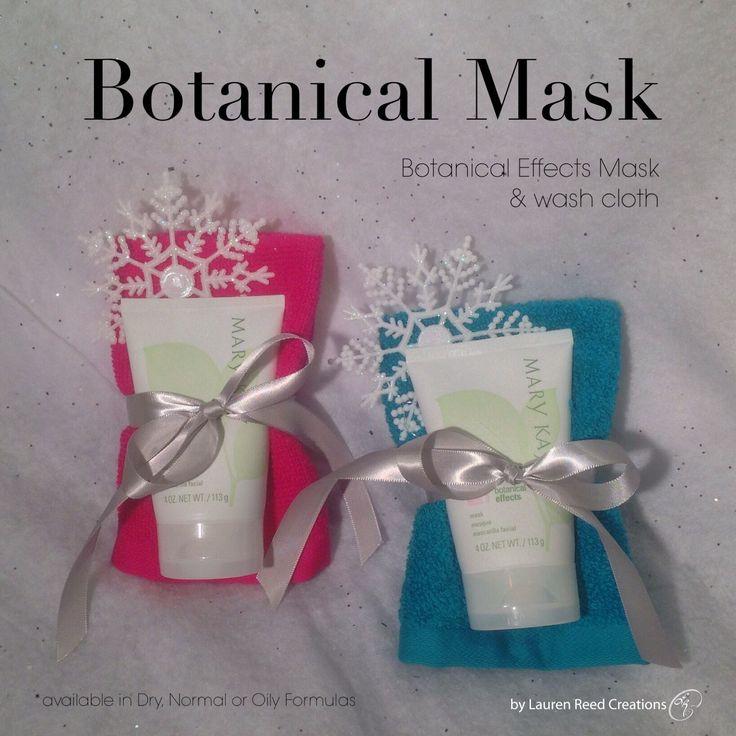 Botanical Mask Bundle Unique To The Seasons Holidays With Handmade Crochet Washcloth 15 Christmas Gift