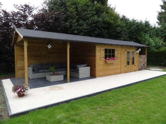 Abri De Jardin Avec Bucher : 63 best shed images on pinterest sheds cabana and ~ Dailycaller-alerts.com Idées de Décoration
