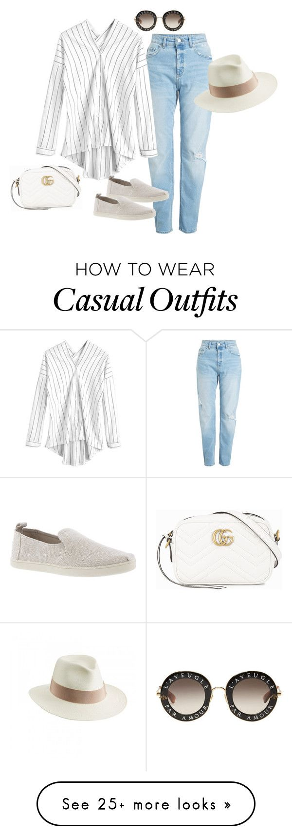 """""""casual U"""" by marta-isabella on Polyvore featuring Gucci, TOMS and Helen Kaminski"""