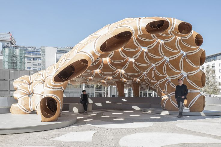 Gallery of ICD-ITKE Research Pavilion 2015-16 / ICD-ITKE University of Stuttgart - 2