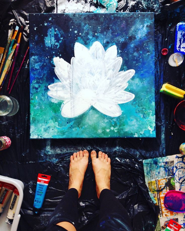 LOTUS in progress by TINA MINOR (c)