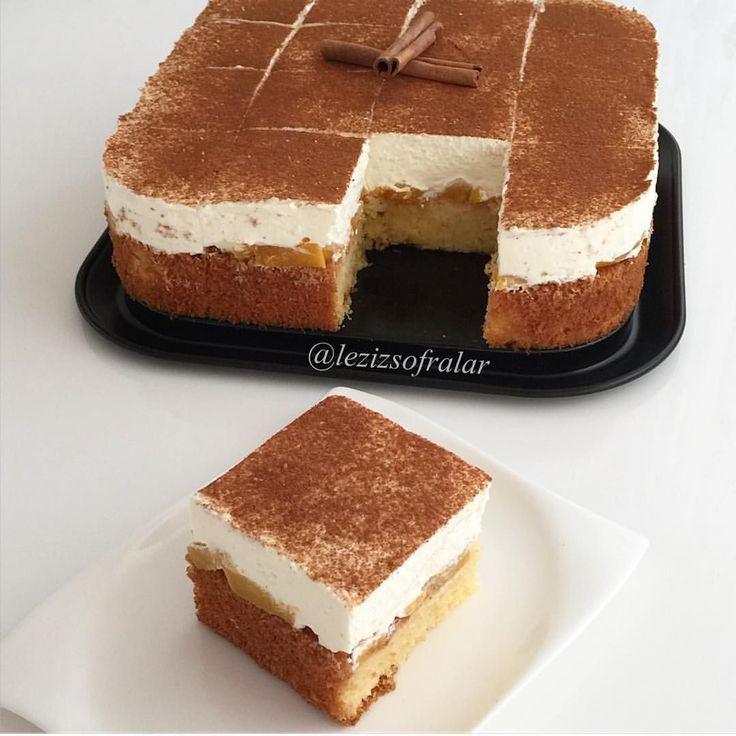 """1,592 Beğenme, 37 Yorum - Instagram'da Lezizsofralar (@lezizsofralar): """"Bu pasta lezzeti ve hafifligiyle benim favorim mutlaka denemenizi tavsiye ederim ☺️ Fantali pasta…"""""""