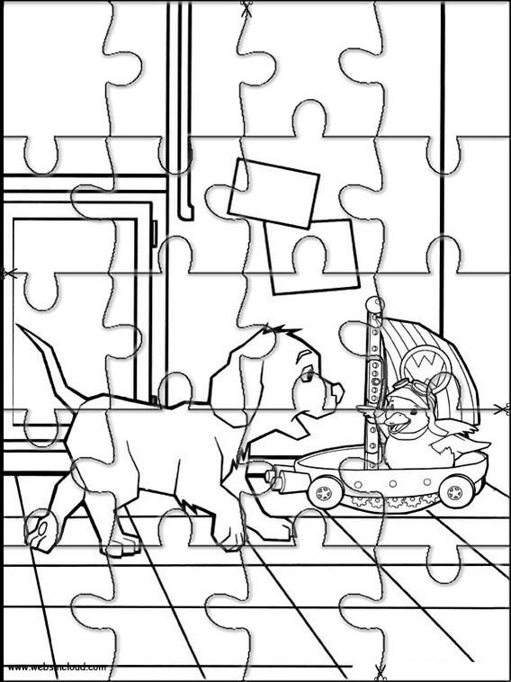 Printable jigsaw puzzles to cut out for kids Wonder Pets 20 – Printable jigsaw puzzles to cut out for kids
