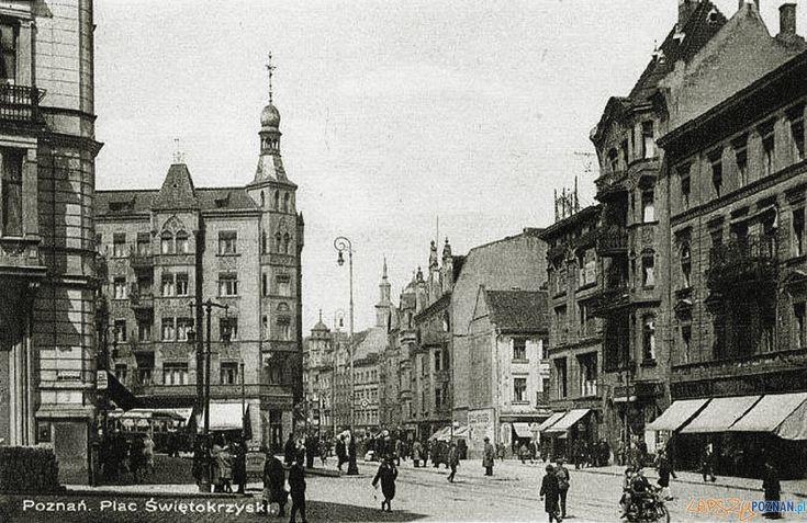 Plac Wiosny Ludów -Świetokrzyski - okres międzywojenny Foto: