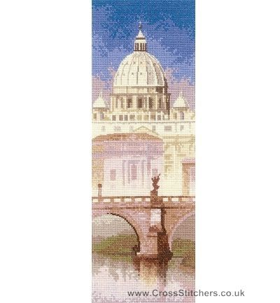 St Peter's - John Clayton Internationals Cross Stitch Kit from Heritage Crafts
