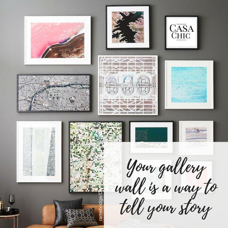 130 best Ideen für eine Bilderwand images on Pinterest   Home ...