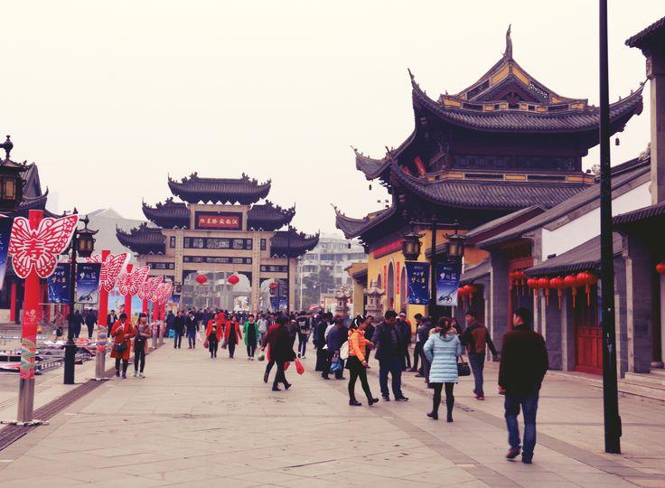 Nanchan Temple in Wuxi, China