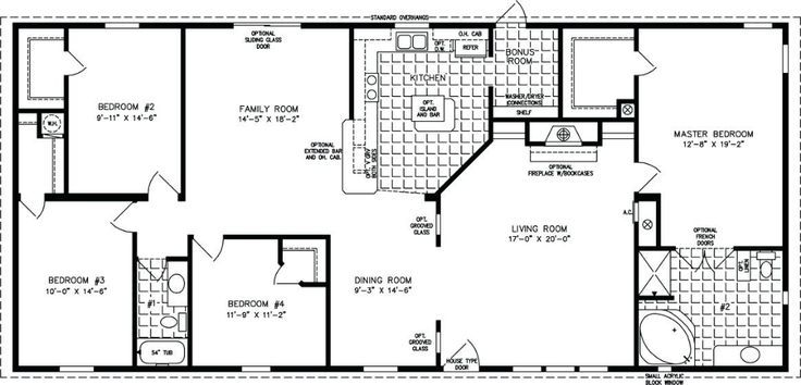 Simple House Plans 2000 Square Feet Outstanding House Plan Under Square Foot Sq In 2020 Modular Home Floor Plans Mobile Home Floor Plans Manufactured Homes Floor Plans