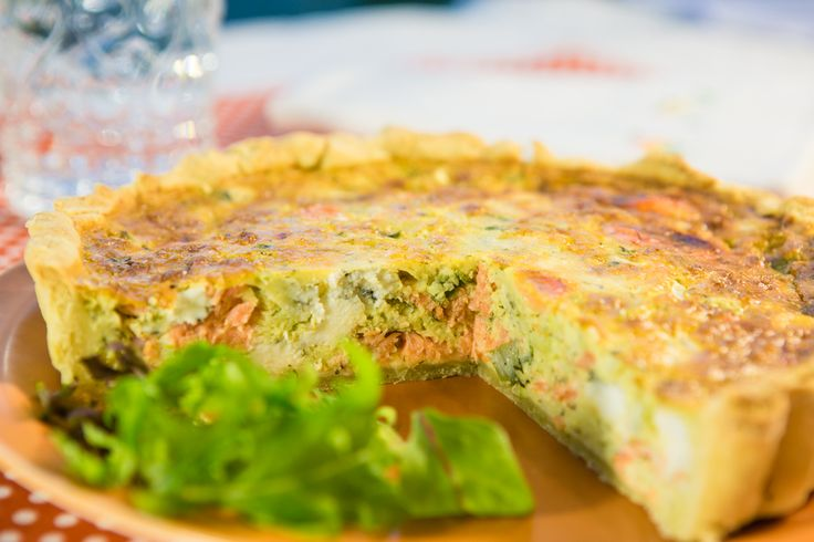 The easiest Quiche recipe ever + Quiche 5 ways