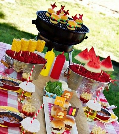 84 Best Backyard Barbeque Party Ideas Images On Pinterest