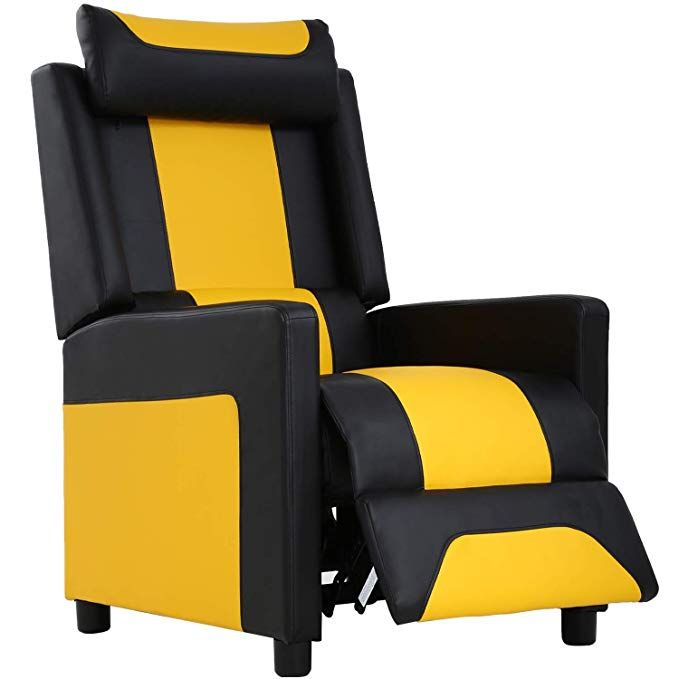 Recliner Chair Gaming Recliner Gaming Chairs For Adults Video Game Chairs Couch Gamer Chair Reclinin Gaming Sofa Comfortable Living Room Furniture Gaming Chair