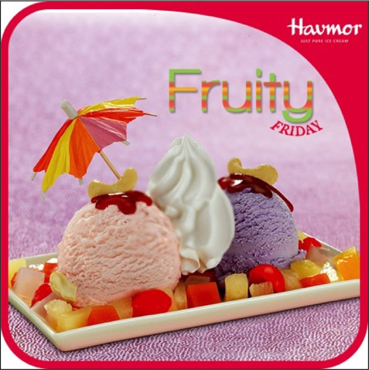 Have more fun this weekend with a 'fruitilicious' Fruit Fusion to keep in line with this  #FruityFriday.