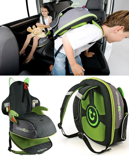 "BoostApak Says To Your Kid – ""You're The One Who Needs The Booster Seat, You Carry It"" 