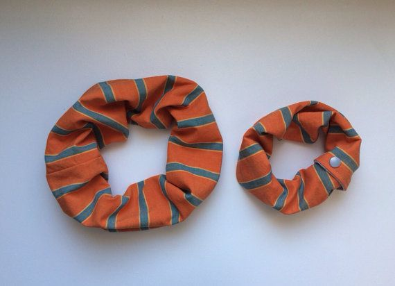 Mommy/Daddy & Me Cowl Set (Baby) - spring stripes on Etsy, $25.00 CAD