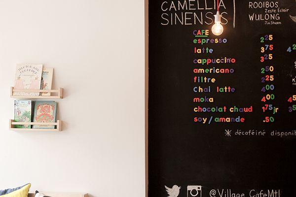 Village Café - a kid-friendly coffee shop on Behance