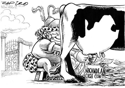 Keep on Milking the Nkandla Cash Cow by JZ
