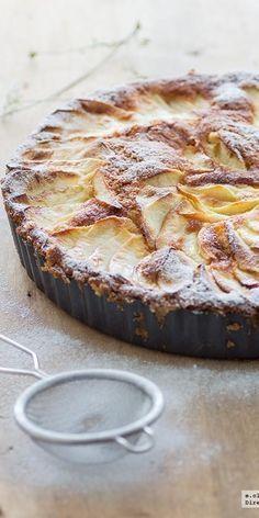 Tarta sueca de manzana. Receta Más