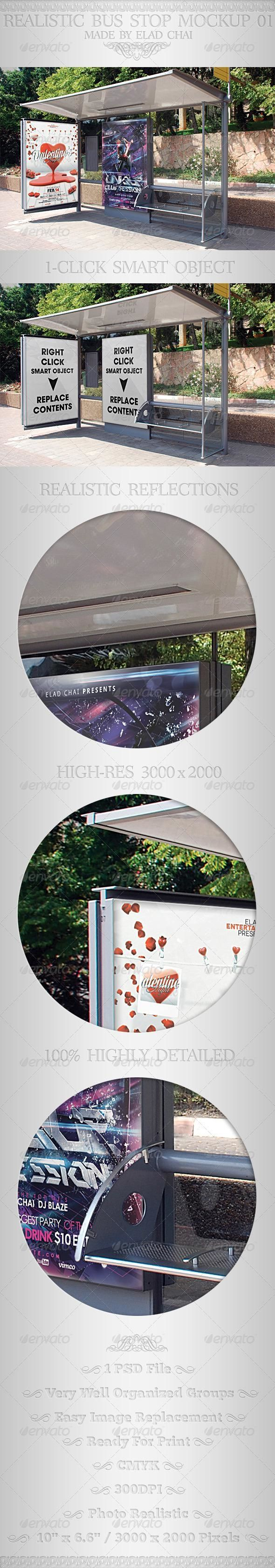 Realistic Bus Stop Flyer Poster Mockup 01 for $8  #mockup #psd #template #Signage #GraphicDesign #design #GraphicRiver #designresources #BestDesignResources
