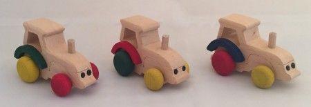 Liten traktor
