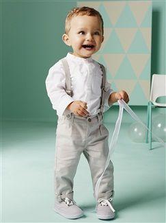 Ensemble chemise + pantalon bébé garçon  - vertbaudet enfant