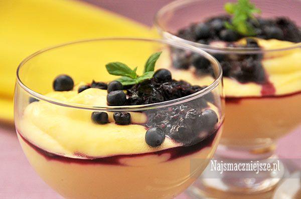 Domowy budyń waniliowy, budyń waniliowy, domowy budyń, deser dla dzieci, http://najsmaczniejsze.pl #food #dessert