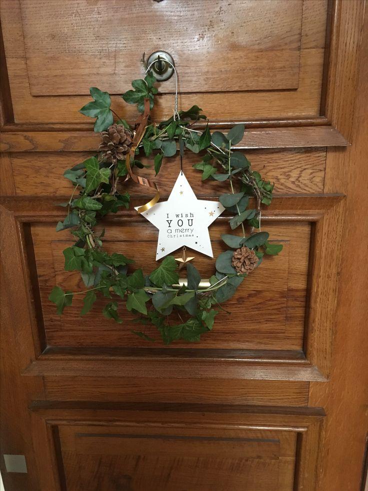 Couronne DIY Noël 2017 (avec images) Diy noël, Noel 2017