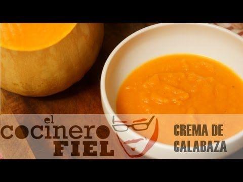 Más en http://elcocinerofiel.com/ Ingredientes: 1 kg de calabaza,5 g de comino, aceite de oliva virgen extra, pimienta y sal. Puedes seguirme en: Twitter: ht...