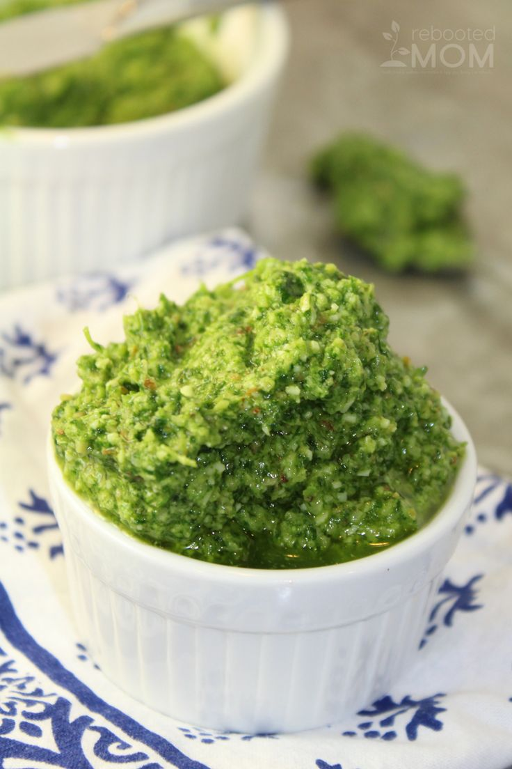 Fresh cilantro whipped up into pesto using sliced almonds, parmesan, garlic and lemon juice - great for stirring into pasta, topping over fish or chicken or combining with cottage cheese for a wonderful, healthy dip.