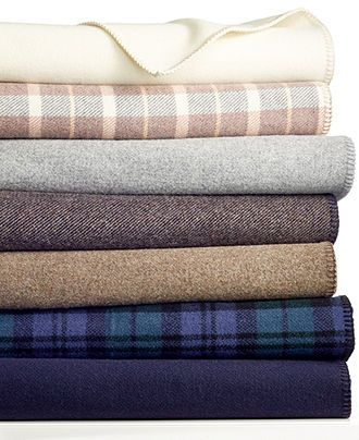 Pendleton Wool Twin Blanket - Blankets & Throws - Bed & Bath - Macy's $130.