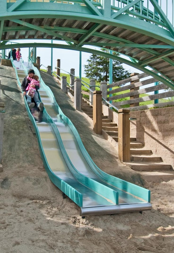 7 best embankment slides images on pinterest playgrounds