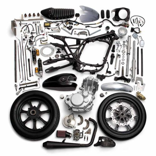 A dissected cafe racer