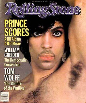 Prince - Rolling Stone Magazine [United States] (30 August 1984)