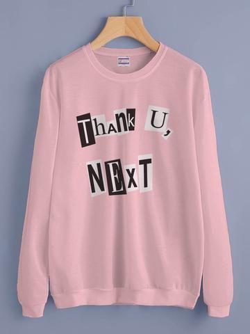 b68105d6e Thank U, Next Pop art Ariana Grande Unisex Crewneck Sweatshirt Adult -  #Adult #