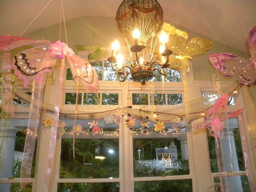 fairytale party decorations