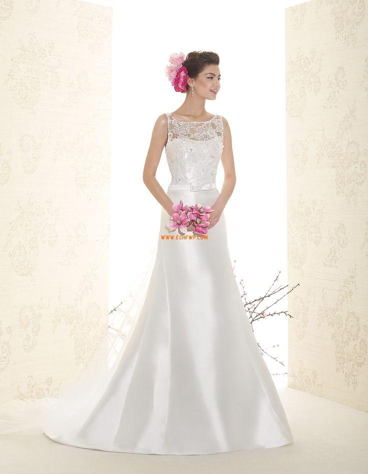 Sweep / Pinsel Zug Applikation Reißverschluss Brautkleider 2015