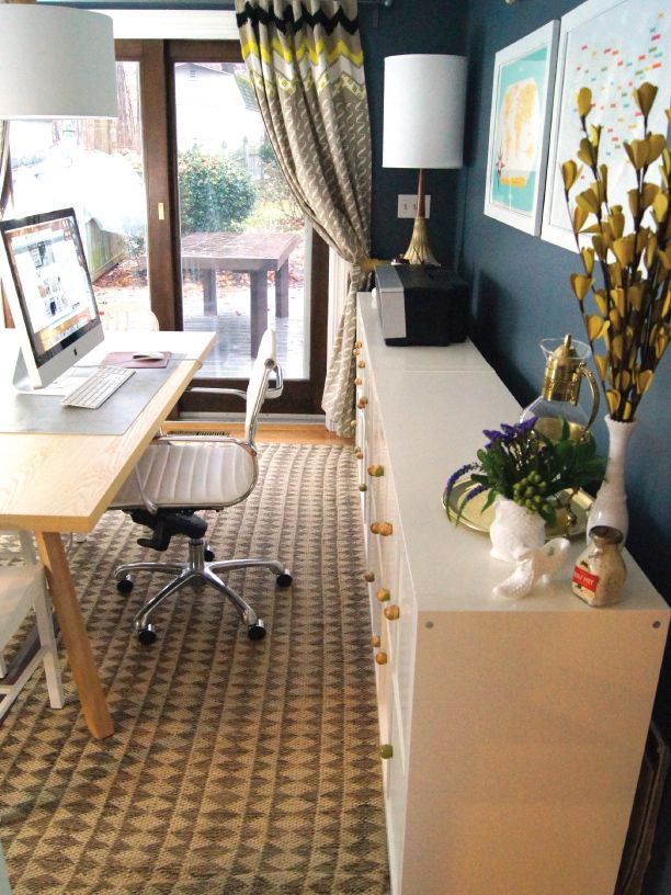 9 smart ideas for creating a dual purpose room for Dual purpose dining room ideas