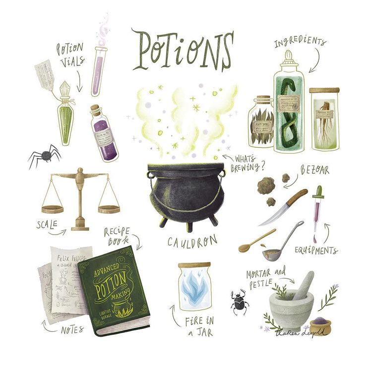 """1,341 Likes, 41 Comments - Karen Leopold ⚡️ (@karen_leopold) on Instagram: """"There is little foolish wand-waving here in potions class! What potion do you want to try and brew…"""""""
