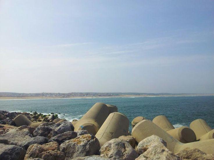 Mehdia Beach - Kenitra, moon