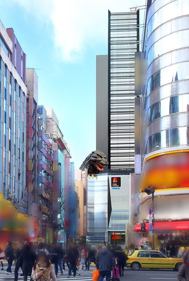 Hotel Gracery, A Tokyo Hotel Dedicated to All Things Godzilla