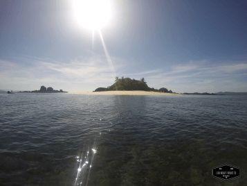 Gold Granite island in Coiba National Park, Panama Isla Granito de Oro en el Parque Nacional de Coiba, Panama