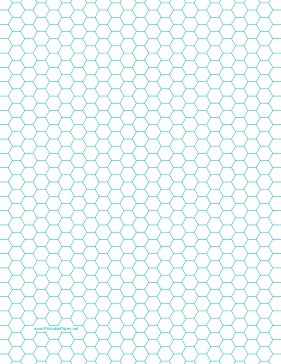 1,066 papers you can download and print for free. Hexagon Graph Paper with 1/4-inch spacing on letter-sized paper Paper
