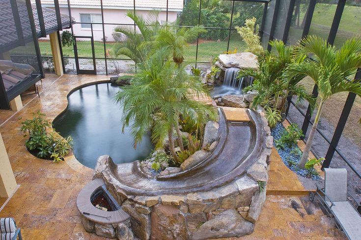 Indoor Pool Lagoon