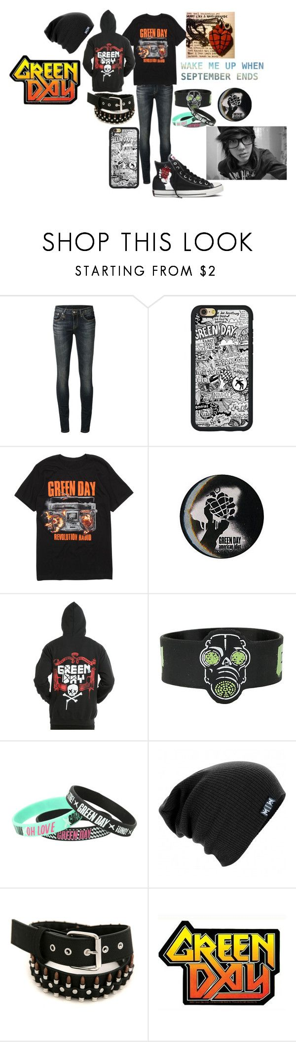 """d3d696e6c0ed77087cfae55603b1c32f - """"Untitled #454"""" by dino-satan666 ❤ liked on Polyvore featuring R13, Hot Topic ..."""