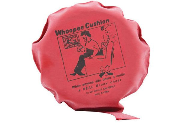 "For a real ""Bronx Cheer"" we love a Whoopee Cushion :)"