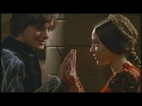 Romeo And Juliet (1968) Theme by Nino Rota.  (As sung by Glen Weston / film clip here:  http://www.youtube.com/watch?v=CCOafzKxfpA=FLiQN4RMvXb7eNqDWRrg78fw=3=plpp_video).  Music, video, film