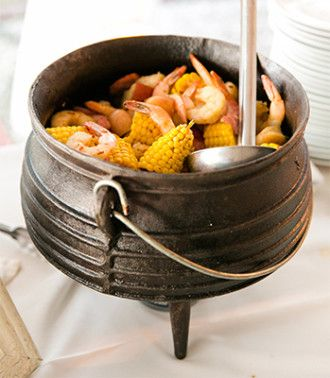 Lowcountry boil from the PPHG culinary team | Rehearsal dinner and welcome…