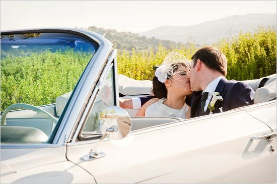 Navy Blue And Green Wedding Ideas including some retro wedding ideas that you are going to love including a short wedding dress.