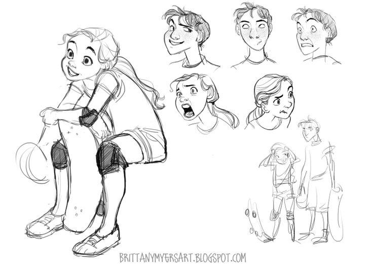 Comic Character Design Tutorial : Best character design female images on pinterest