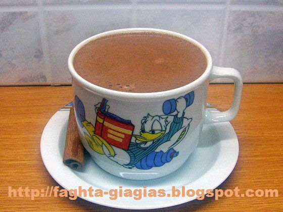 Ζεστή σοκολάτα ρόφημα - από «Τα φαγητά της γιαγιάς»
