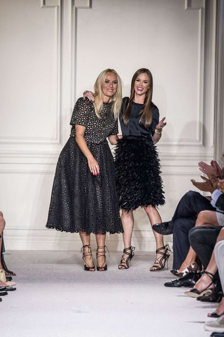 Marchesa's Designer Georgina Chapman and Keren Craig, so cute & cool !